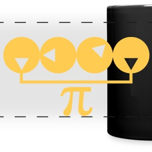 Pi Number Idiosyncrasy - Full Color Panoramic Mug