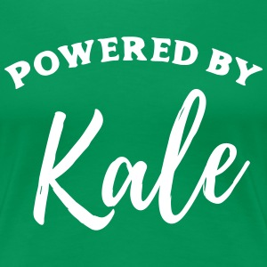 Powered by Kale T-Shirts - Women's Premium T-Shirt