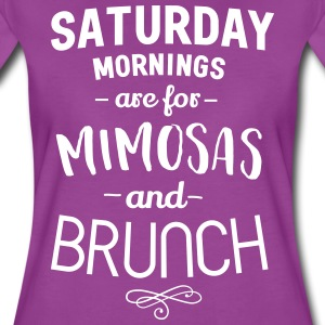 Saturday mornings are for mimosas and brunch T-Shirts - Women's Premium T-Shirt