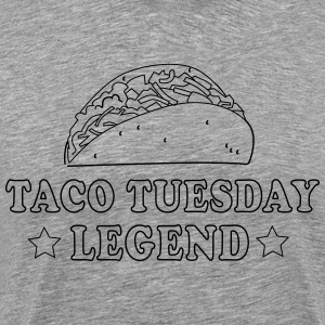 Taco Tuesday Legend T-Shirts - Men's Premium T-Shirt