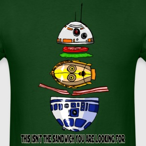 c3po Sandwich Star Wars BB8 R2-D2 BLT - Men's T-Shirt