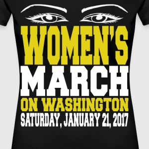 Womens March on Washington 2017 - Women's Premium T-Shirt