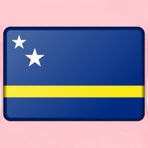 Flag of Curacao (bevelled) - Women's Premium T-Shirt