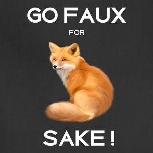 GO FAUX FOR FOX SAKE - Adjustable Apron