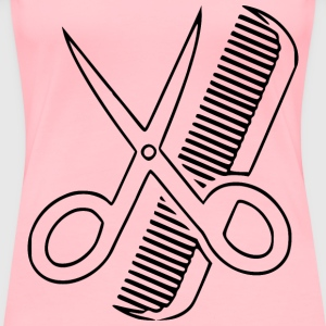 Hairstyle - Women's Premium T-Shirt