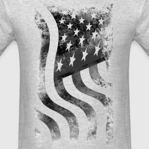 Distressed US Flag - Men's T-Shirt