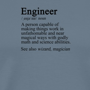 Engineer Definition - Men's Premium T-Shirt