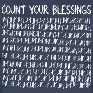 Count Your Blessings (dark) T-Shirts - Women's Premium T-Shirt