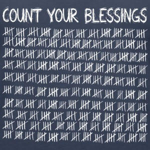 Count Your Blessings (dark) Tanks - Women's Premium Tank Top