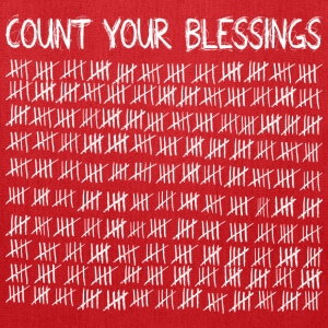 Count Your Blessings (dark) Bags & backpacks - Tote Bag
