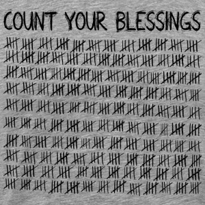 Count Your Blessings T-Shirts - Men's Premium T-Shirt