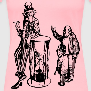 Uncle Sam Smokes - Women's Premium T-Shirt