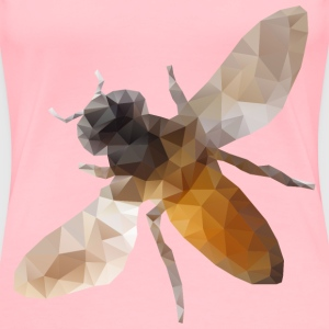 Low Poly Bee - Women's Premium T-Shirt