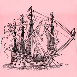 Sailing ship 5 - Women's Premium T-Shirt