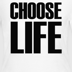 Choose Life - Women's Long Sleeve Jersey T-Shirt