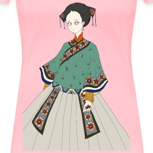 Japanese Woman - Women's Premium T-Shirt