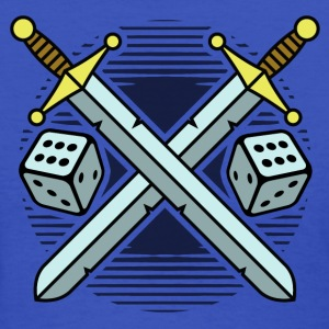 crossed swords and dice T-Shirts - Women's T-Shirt