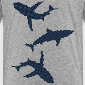 Three sharks Baby & Toddler Shirts - Toddler Premium T-Shirt