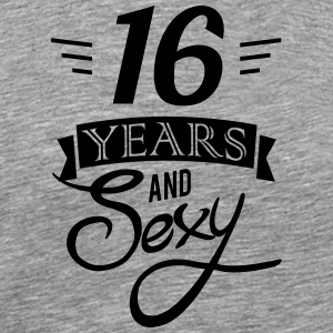 16 years and sexy - Men's Premium T-Shirt