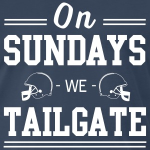 On Sundays we tailgate T-Shirts - Men's Premium T-Shirt