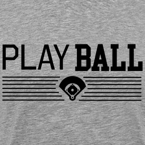 Play Ball T-Shirts - Men's Premium T-Shirt