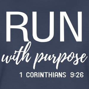 Run with purpose. Corinthians T-Shirts - Women's Premium T-Shirt