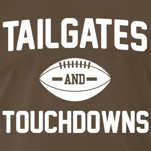 Tailgates and touchdowns T-Shirts - Men's Premium T-Shirt