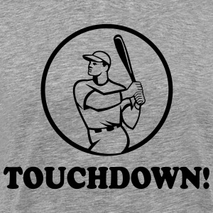 Touchdown Baseball T-Shirts - Men's Premium T-Shirt