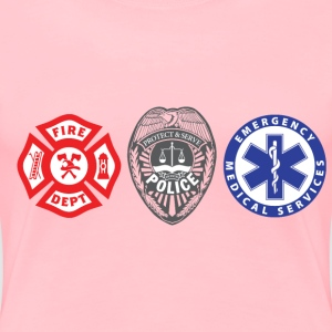 First Responders Three - Women's Premium T-Shirt
