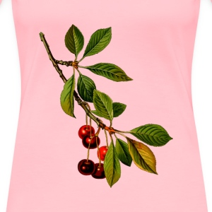Sour cherry tree 2 (detailed) - Women's Premium T-Shirt
