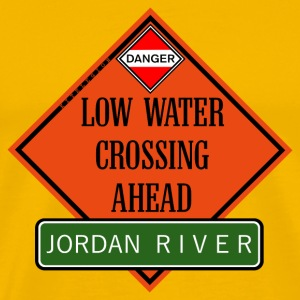 crossing jordan ahead us T-Shirts - Men's Premium T-Shirt