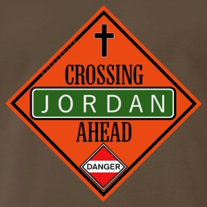 crossing ahead us T-Shirts - Men's Premium T-Shirt