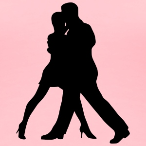 Dancing couple 16 - Women's Premium T-Shirt