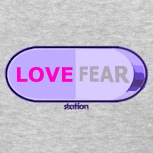 love vs fear switch - women's t-shirt - Women's T-Shirt