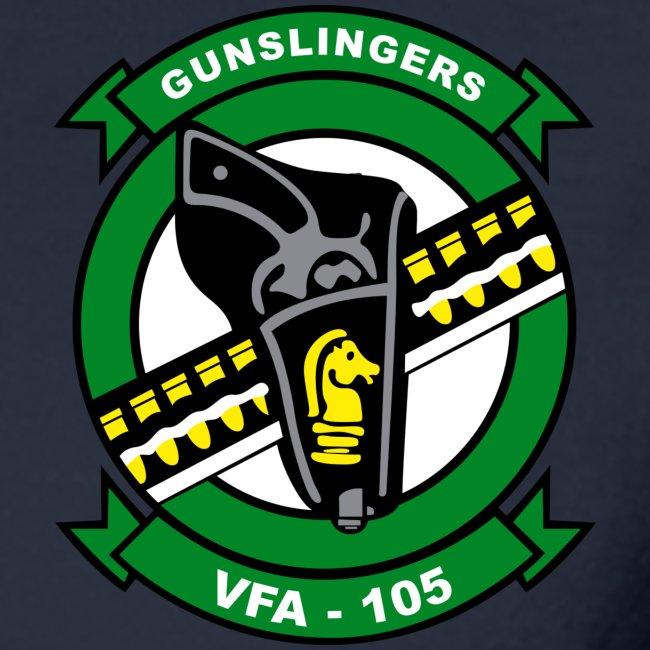 IKE AIRWING - VFA-105 GUNSLINGERS 2016 CRUISE SHIRT - LONG SLEEVE