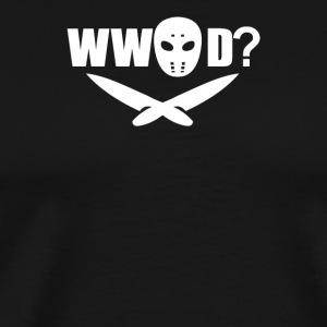 What would Jason Do - Men's Premium T-Shirt
