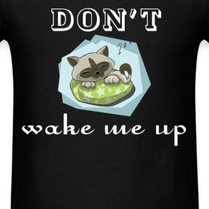 Sleeping - Don't wake me up - Men's T-Shirt
