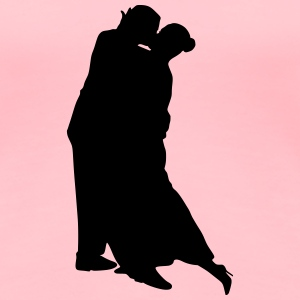 Dancing couple 7 - Women's Premium T-Shirt
