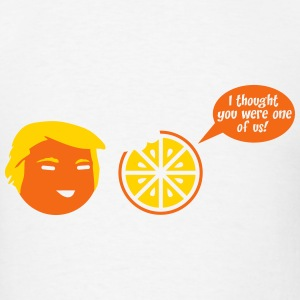 Trump Orange Cartoon T-Shirts - Men's T-Shirt