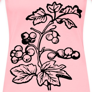 Branch and berries - Women's Premium T-Shirt