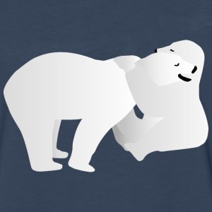 Two polar bears Long Sleeve Shirts - Men's Premium Long Sleeve T-Shirt