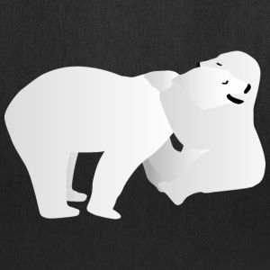 Two polar bears Bags & backpacks - Tote Bag