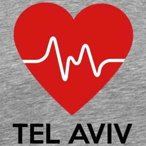 Heart Tel Aviv - Men's Premium T-Shirt