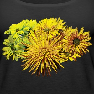 Shades of Yellow Daisies Tanks - Women's Premium Tank Top