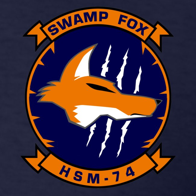 IKE AIRWING - HSM-74 SWAMP FOXES 2016 CRUISE SHIRT - FAMILY