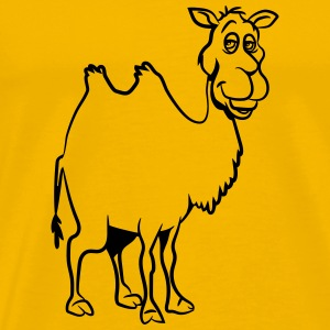 Camel witty cute goofy T-Shirts - Men's Premium T-Shirt