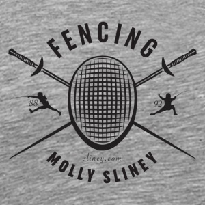 Fencing with Molly Sliney - Men's Premium T-Shirt