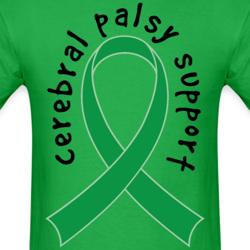 Cerebral Palsy Awareness Support Ribbon
