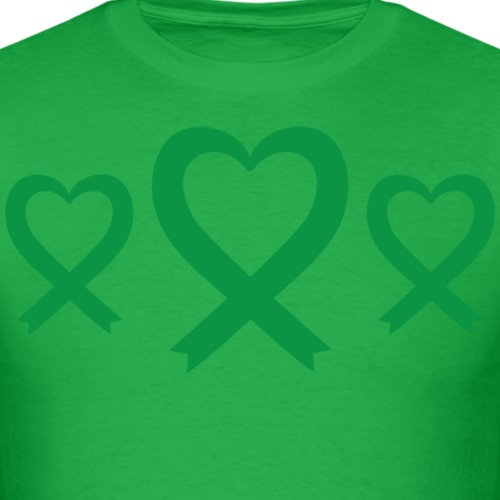 Green Awareness Ribbon logo