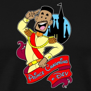 Prince Charming Dev_Logo_Spreadshirt - Men's Premium T-Shirt